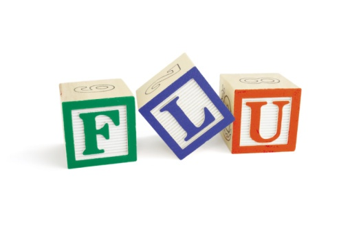flu alphabet blocks