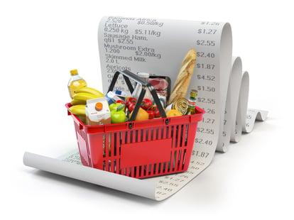 food budget shopping