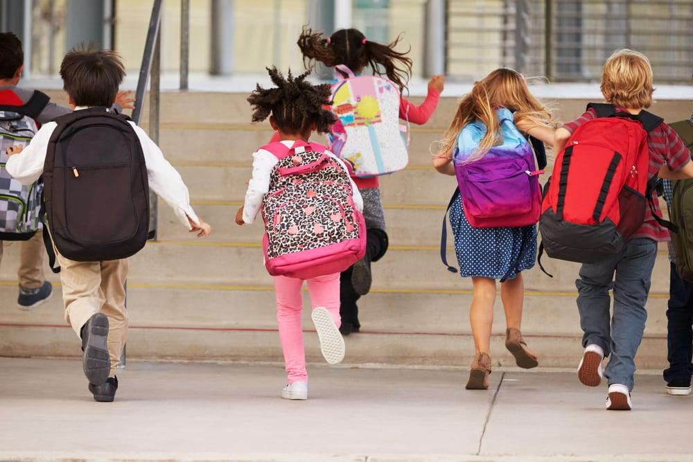 kids headed back to school